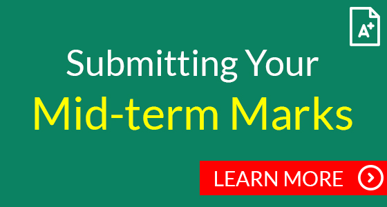 Submitting your mid-term marks