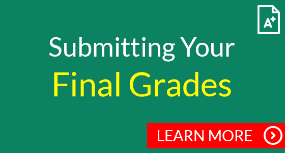 Submitting your final grades